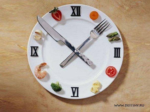 """Эффективная диета """"по часам"""" » женский журнал судьба   destiny. Ru."""